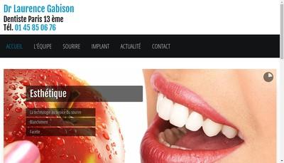 Site internet de Laurence Gabison