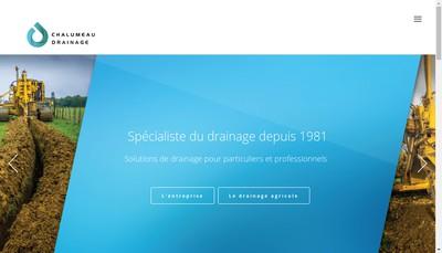 Site internet de CHALUMEAU DRAINAGE