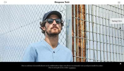 Site internet de Drapeau Noir