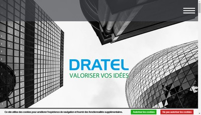Site internet de Dratel