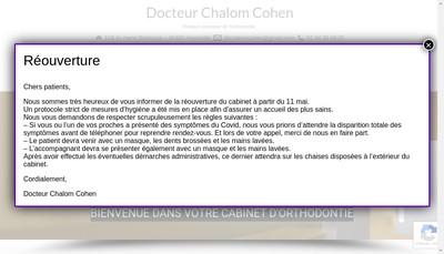 Site internet de Chalom Cohen