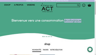 Site internet de Dream Act