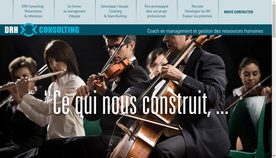 Site internet de Drh Consulting