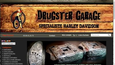 Site internet de Drugster Garage