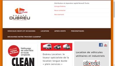 Site internet de Dubreu SAS