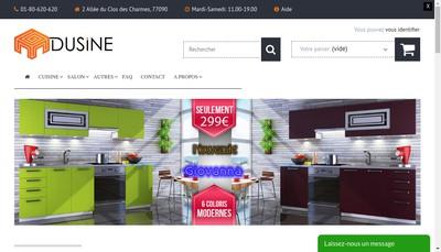 Site internet de Dusine