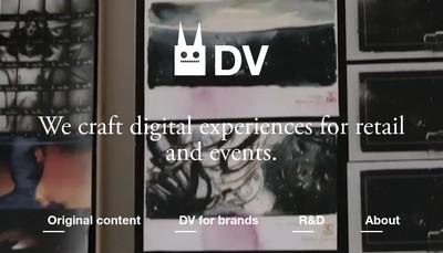 Site internet de Dv Group