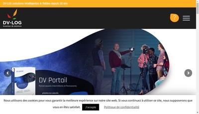 Site internet de Dv-Log