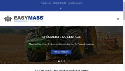 Site internet de Easymass