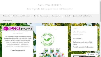 Site internet de Easy Services