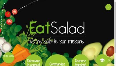 Site internet de Eat Salad