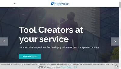 Site internet de Eclipsesource France