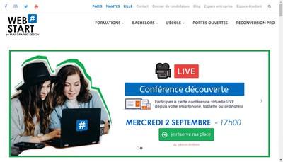 Site internet de Webstart