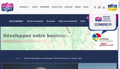 Site internet de Ecomnews