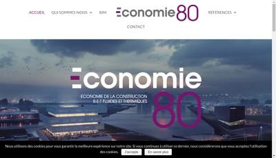 Site internet de SA Economie 80