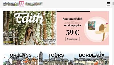Site internet de Editions Mademoiselle