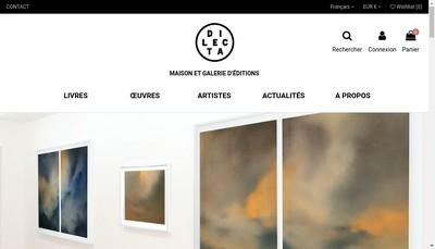 Site internet de Editions-Dilecta Com - Editions Capri