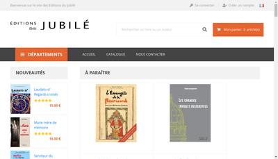 Site internet de Editions du Jubile