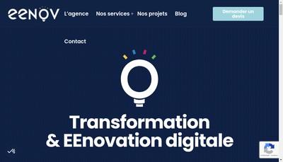 Site internet de Eenov