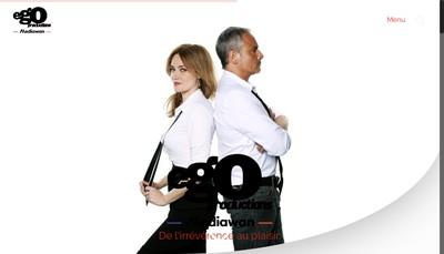Site internet de Ego Productions