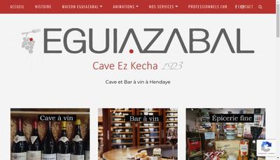 Site internet de Maison Eguiazabal