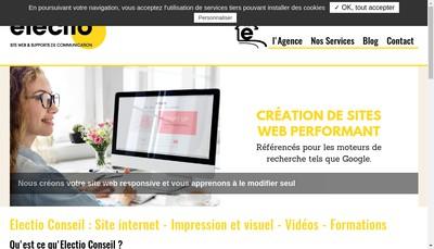 Site internet de Electio Conseil
