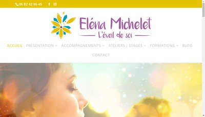 Site internet de Elena Elard