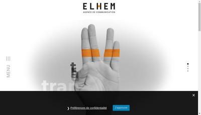 Site internet de Elhem