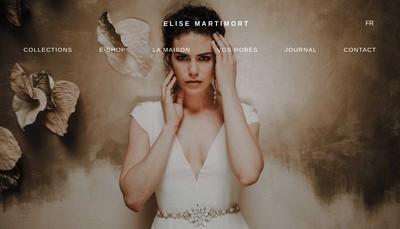 Site internet de Elise Martimort Creations