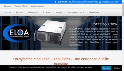 Site internet de Eloa