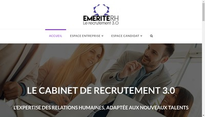 Site internet de Emerite Rh
