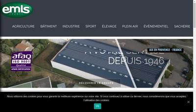 Site internet de Emis France
