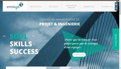 Site internet de Emisys