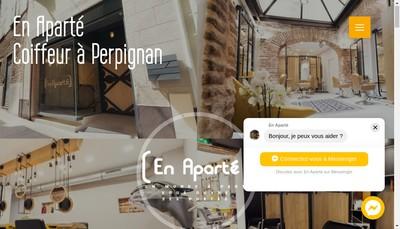 Site internet de En Aparte