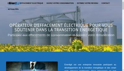 Site internet de Enerdigit