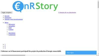 Site internet de Invest Story