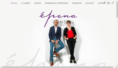 Site internet de Epona Conseil