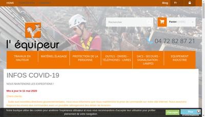 Site internet de L'Equipeur l'Eekhoorn
