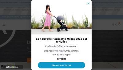 Site internet de Ergobaby France