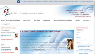 Site internet de E Secretariat