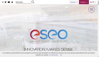 Site internet de Groupe ESEO