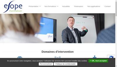 Site internet de Esope