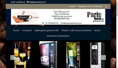 Site internet de Espace Detente