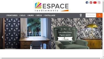 Site internet de Espace Revetements