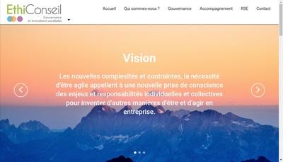 Site internet de Ethiconseil