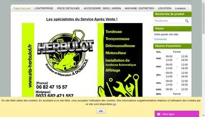 Site internet de Etablissements Herbulot