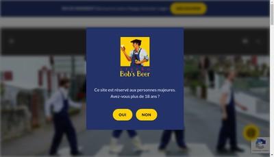 Site internet de Etxeko Bob S Beer