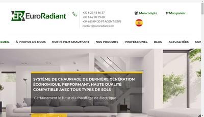 Site internet de Euroradiant