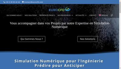 Site internet de Euro Cfd