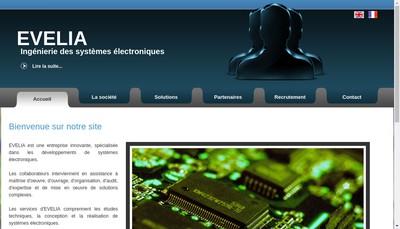 Site internet de Evelia